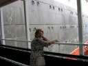 Joan Shaw (Valerie Whitcombe) beside the Queen Mary in Long Beach - Heywood Web Site