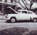 49 Chevy that pulled Heywood\'s trailer across US in 1954 - Heywood Web Site