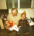 Great Uncle Jack with Emma and Gary Voigt 11-08 - Heywood Web Site