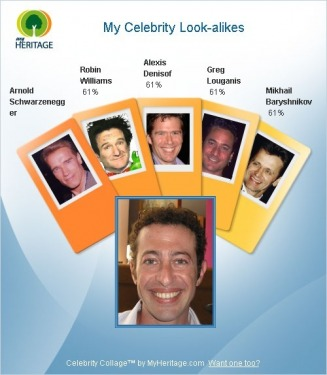 My Celebrity Look-alikes - Williams Family