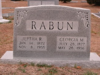 Jeptha Rabun - Bonnie Williams