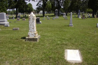 Jones Family cemetery plot - Hartswick Web Site
