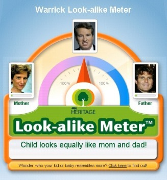 Warrick Look-alike Meter - Pearce Family Website
