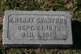 CrawfordRobertHenryGravestone - Sleep Web Site