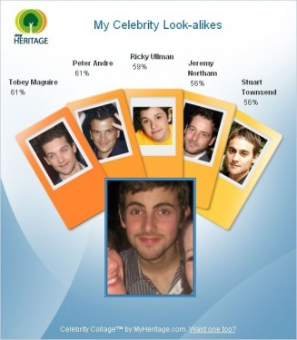My Celebrity Look-alikes - Langley Web Site
