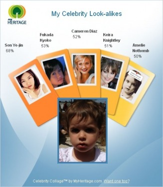My Celebrity Look-alikes - test Web Site