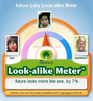 future baby Look-alike Meter - calaya Web Site