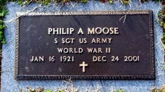 Moose, Phillip Anthony headstone 2001 - Moose-Hawkins Web Site