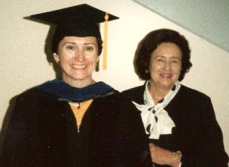 Barbara and Charlotte graduation PhD 1988 - Bowie-Whitman Web Site