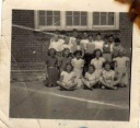 Mum at school~School~Mum school photo, Mum 2nd row, 1st from left~ - Hawkins Web Site