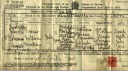 Ernest's Death Cert.~Death Certificate~Died of Diphtheria & Cardiac Degeneration~ - Ernest William Hawkins - Hawkins Web Site
