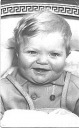 Clive baby in pram - Hawkins Web Site