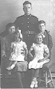 Alf, Dolly, Mum, Yvonne, Arnold - Army Leave - <Private> Hawkins - Hawkins Web Site