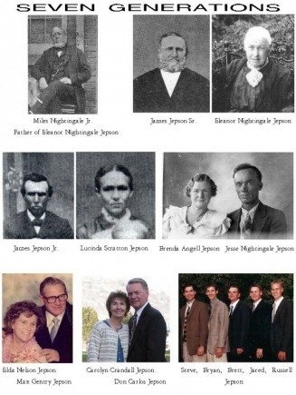 Don's 7 Generations - Don's Family Web Site