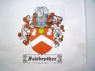 Fairbrother Family Crest - Fairbrother Web Site