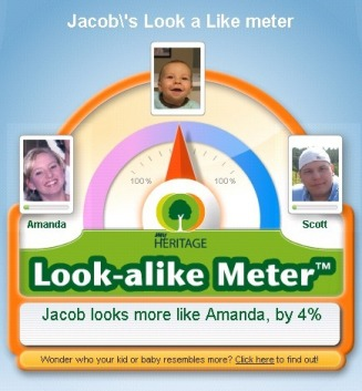 Jacob's Look a Like meter - Bates Family