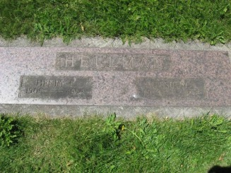 Henry and Elsi Hellman - Rose City Cemetery - Franz Web Site