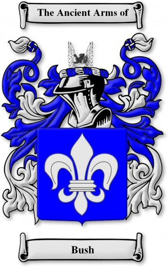 Bush family crest and coat of arms - Bush Web Site
