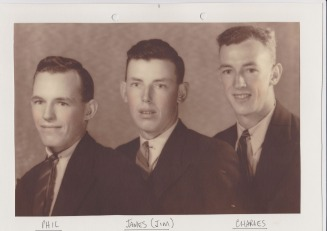 Phillip, James & Charles Fraser - Mead Fraser Family Tree Web Site