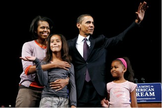Obamas claiming the American Dream - MyHeritage Celebrities - Barack Obama