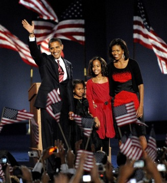 The Obamas made it - MyHeritage Celebrities - Barack Obama