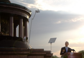In Berlin - MyHeritage Celebrities - Barack Obama