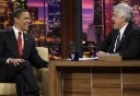 Obama with Leno - MyHeritage Celebrities - Barack Obama