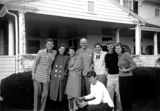 The Kennedy Family in Hyannis Port - MyHeritage Celebrities - John F. Kennedy