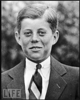 10 year old JFK - MyHeritage Celebrities - John F. Kennedy