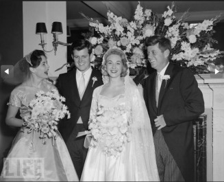 Edward's Wedding to Joan Bennett - MyHeritage Celebrities - John F. Kennedy