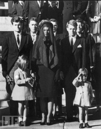 JFK's Funeral - MyHeritage Celebrities - John F. Kennedy