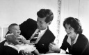 JFK Jackie and Caroline - MyHeritage Celebrities - John F. Kennedy