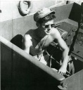 JFK in Navy - MyHeritage Celebrities - John F. Kennedy