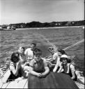 Teddy sailing - Edward Moore (Ted) Kennedy - MyHeritage Celebrities - John F. Kennedy