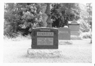 Rombough Headstones_0002 - Rombough-Rambach-Rumbaugh Family Web Site
