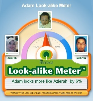 Adam Look-alike Meter - Azirah Web Site