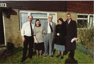Denis, Eileen, John Stanley, Shielagh and Michael Whitaker - lewis Web Site
