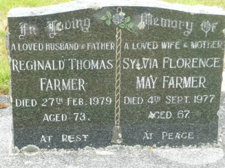 Reginald & Sylvia Farmer - Jenkins Web Site