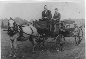 grandad sam gill and uncle jim - tracey's family Web Site