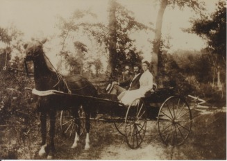 Charles Marion Covey & Susie Dulin circa 1900-01 - Curry Web Site