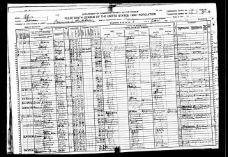 Snow1920Census - KurtEmrysTylerTree Web Site