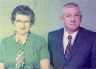 Frank & his wife Velda Cook - Gill Family