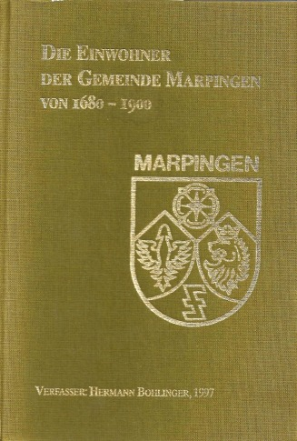 Genealogy of the familys from Marpingen Germany - Benk Web Site