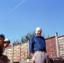 Samantha, Valerie and Uncle Bill Whitcombe 1974 - Heywood Web Site