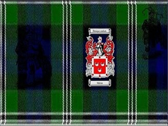 Melvin Clan Tartan & Shield.jpg - Hall Web Site