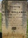 Mary Hollands (born Grigsby)