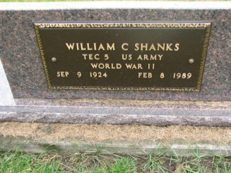 William Carl Shanks - Waisath Family Web Site