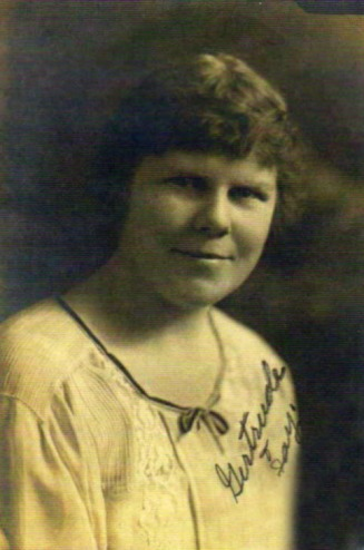 Gertrude Samby - Ancestry of Clay Hodson Web Site