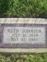 Ruth Johnson (born Swenson)