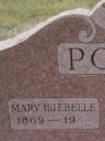Mary Isabelle / Isiebelle Poarch (born Reams)